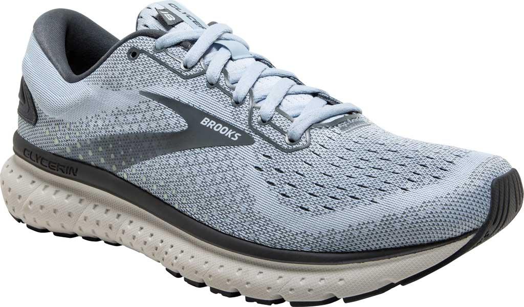 Women's Brooks Glycerin 18 Running Shoe, Kentucky/Turbulence/Grey, large, image 1