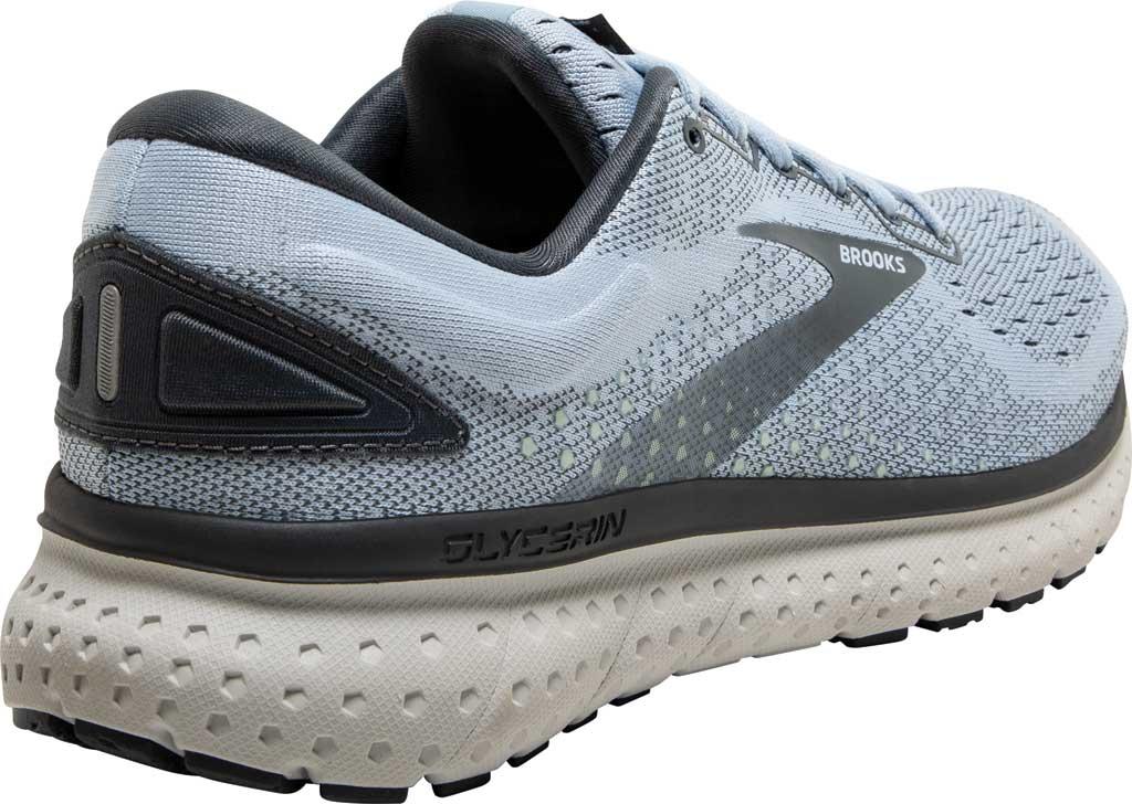 Women's Brooks Glycerin 18 Running Shoe, Kentucky/Turbulence/Grey, large, image 4
