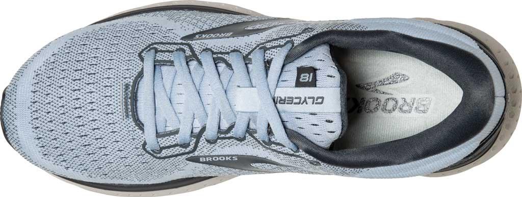 Women's Brooks Glycerin 18 Running Shoe, Kentucky/Turbulence/Grey, large, image 5