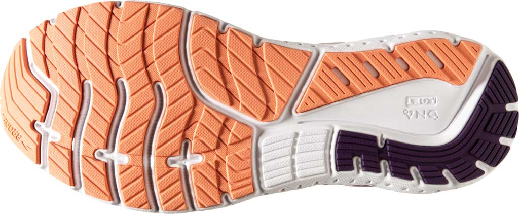Women's Brooks Glycerin 18 Running Shoe, Valerian/Jewel/Cantaloupe, large, image 6