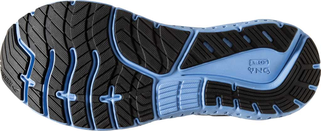 Women's Brooks Glycerin 18 Running Shoe, Black/Ebony/Cornflower, large, image 6