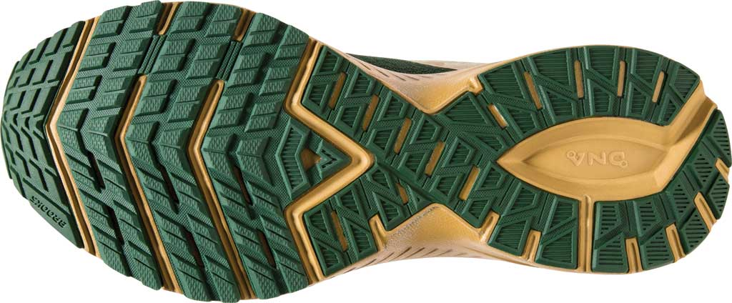 Women's Brooks Launch 7 Running Shoe, Eden/Gold, large, image 6