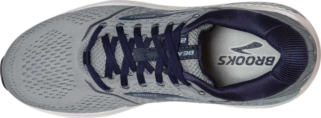 Men's Brooks Beast '20 Running Shoe, Blue/Grey/Peacoat, large, image 5