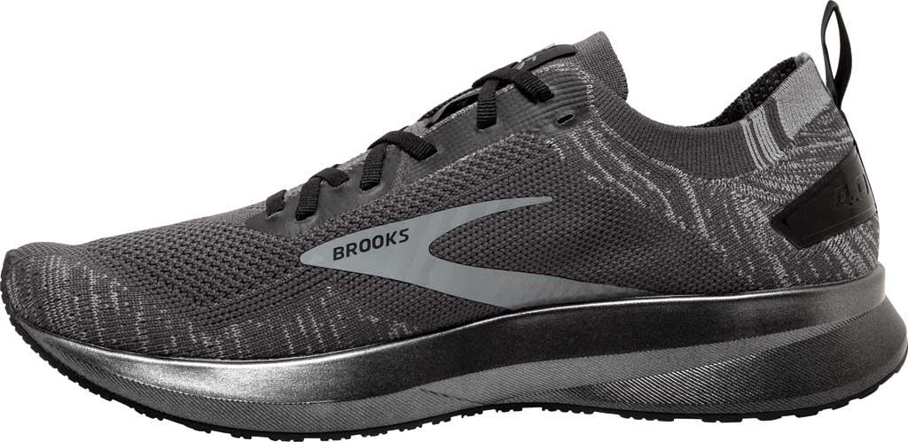 Men's Brooks Levitate 4 Running Shoe, Blackened Pearl/Grey/Black, large, image 3