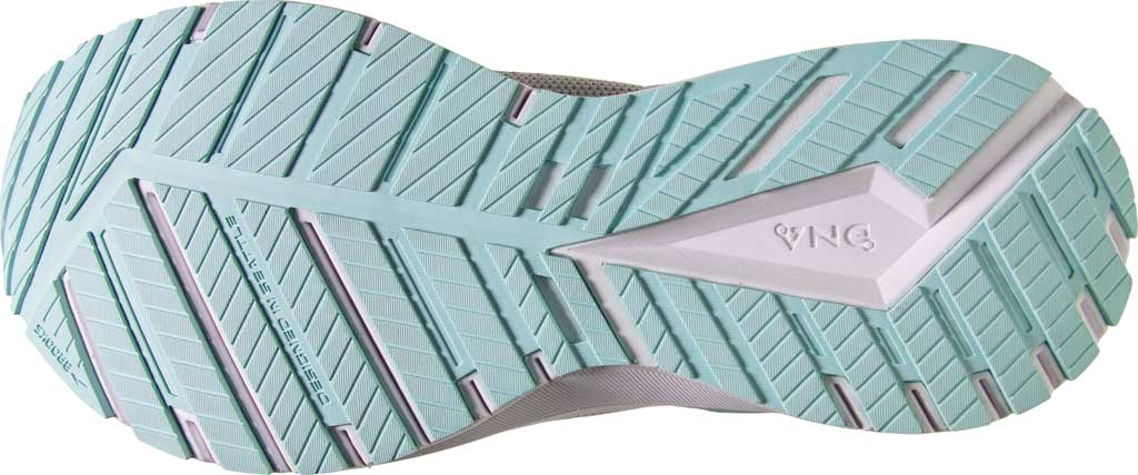 Women's Brooks Revel 4 Running Shoe, Grey/Fair Aqua/Black, large, image 6