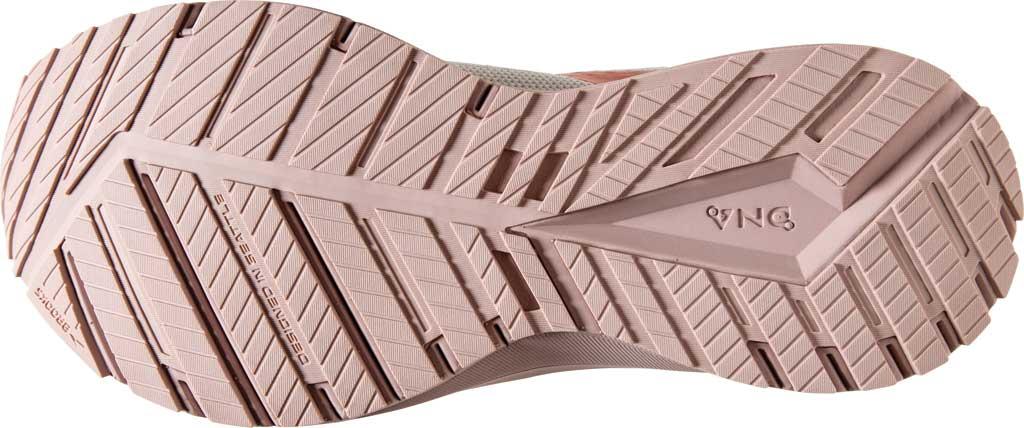 Women's Brooks Revel 4 Running Shoe, White/Hushed Violet/Copper, large, image 6