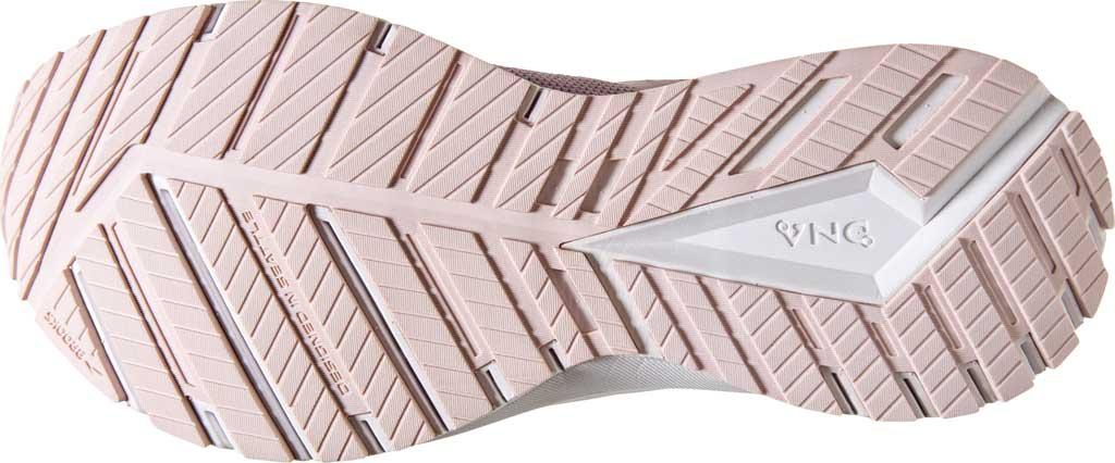 Women's Brooks Revel 4 Running Shoe, Almond/Metallic/Primrose, large, image 6