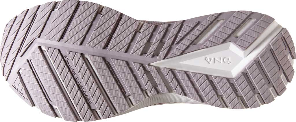 Women's Brooks Revel 4 Running Shoe, White/Wood Violet/Iris, large, image 6