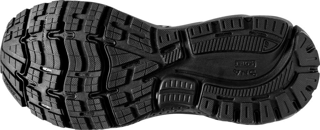 Men's Brooks Ghost 13 Running Shoe, Black/Black, large, image 6