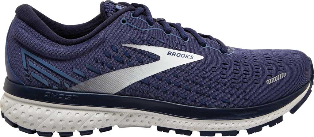 Men's Brooks Ghost 13 Running Shoe, Deep Cobalt/Grey/Navy, large, image 2