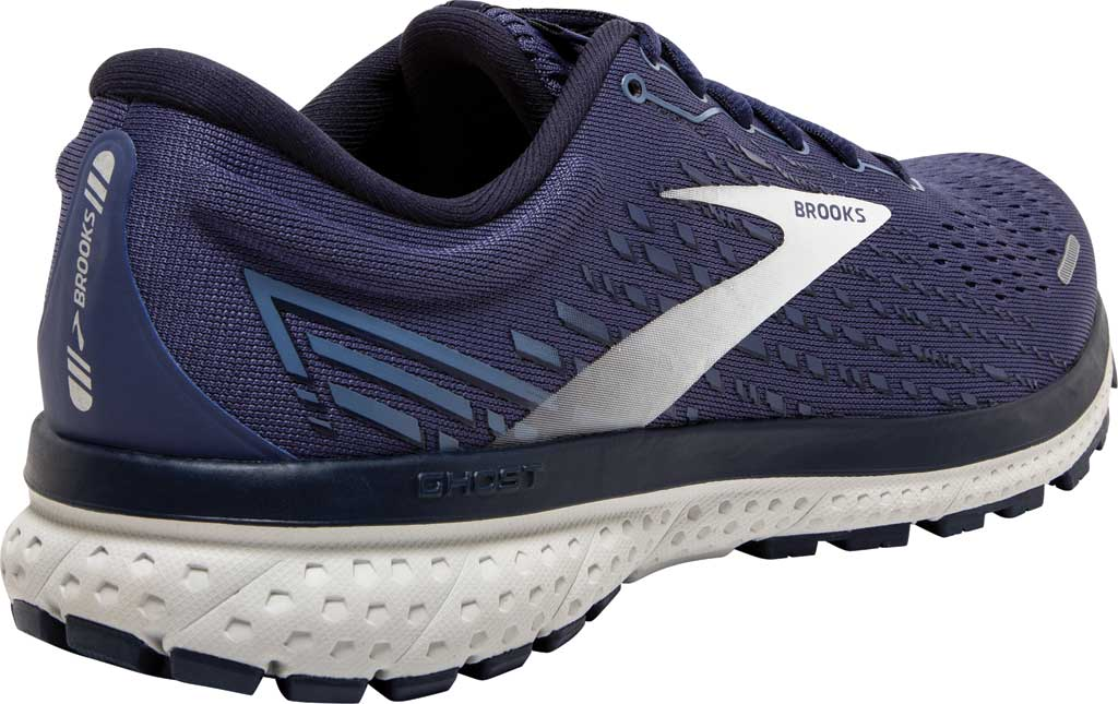 Men's Brooks Ghost 13 Running Shoe, Deep Cobalt/Grey/Navy, large, image 4