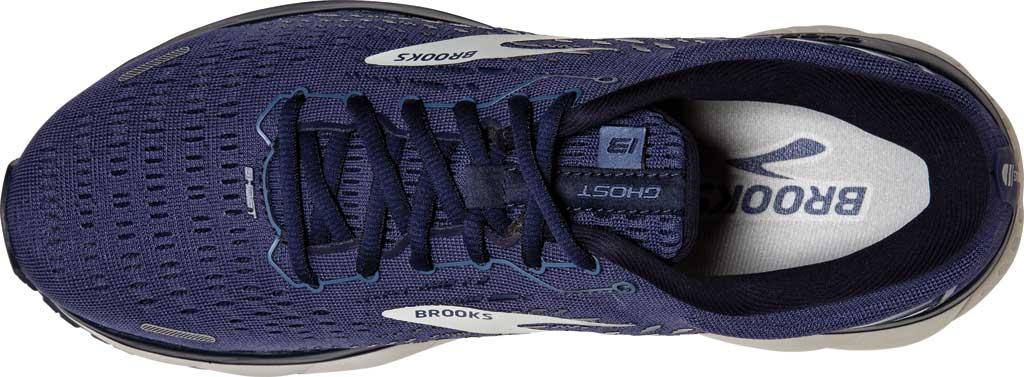 Men's Brooks Ghost 13 Running Shoe, Deep Cobalt/Grey/Navy, large, image 5