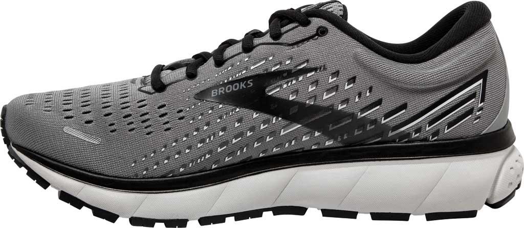 Men's Brooks Ghost 13 Running Shoe, Primer Grey/Pearl/Black, large, image 3