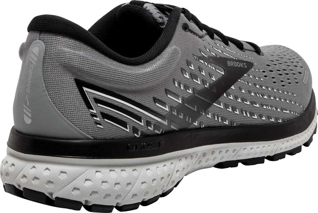 Men's Brooks Ghost 13 Running Shoe, Primer Grey/Pearl/Black, large, image 4