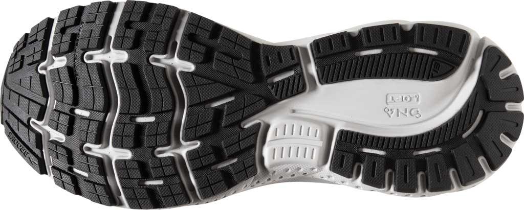 Men's Brooks Ghost 13 Running Shoe, Primer Grey/Pearl/Black, large, image 6