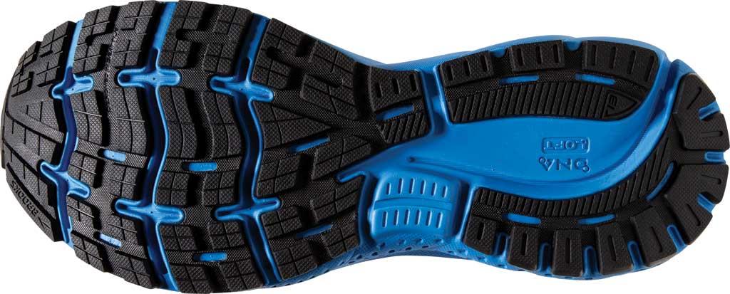 Men's Brooks Ghost 13 Running Shoe, Black/Grey/Blue, large, image 6