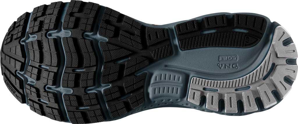 Men's Brooks Ghost 13 Running Shoe, Black/Grey/Stormy, large, image 6