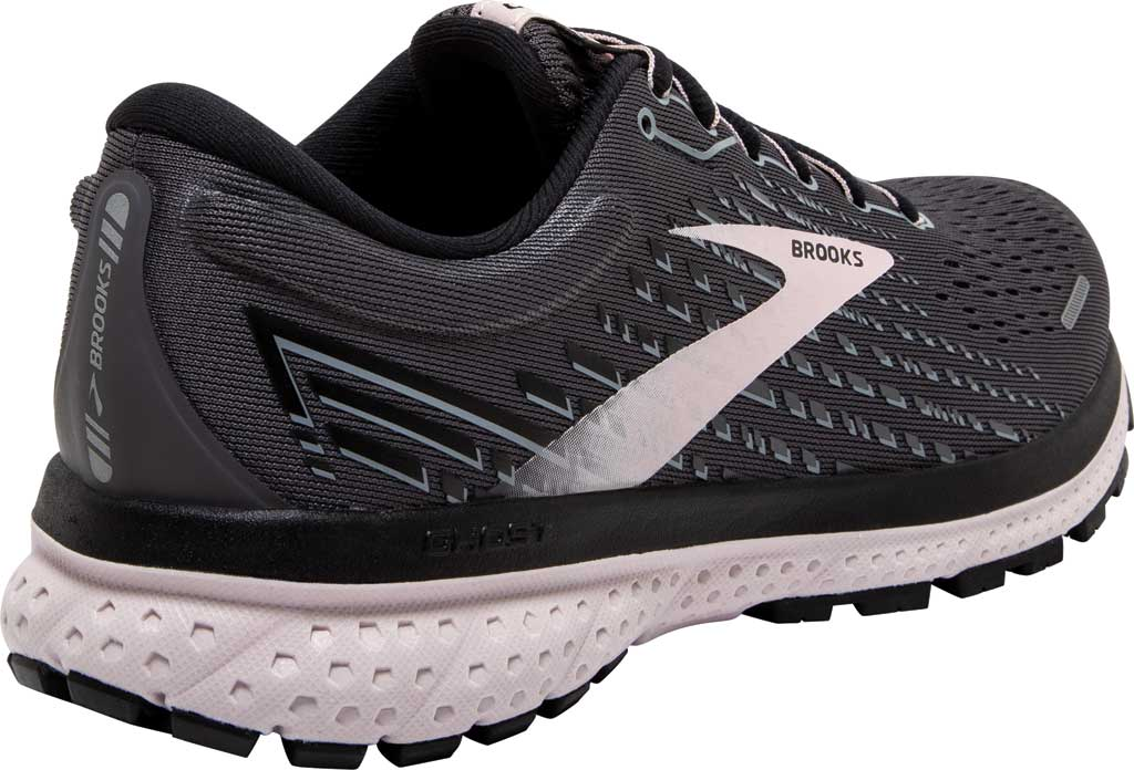 Women's Brooks Ghost 13 Running Shoe, Black/Pearl/Hushed Violet, large, image 4