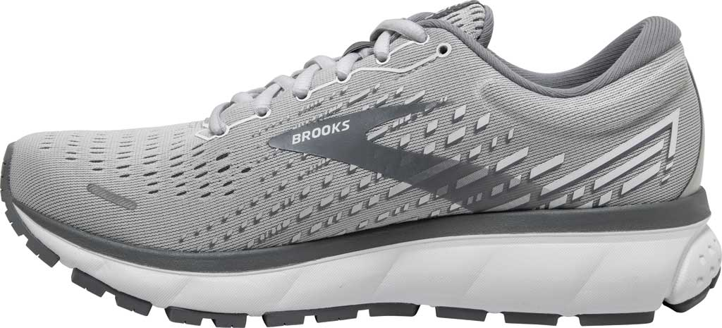 Women's Brooks Ghost 13 Running Shoe, Alloy/Oyster/White, large, image 3