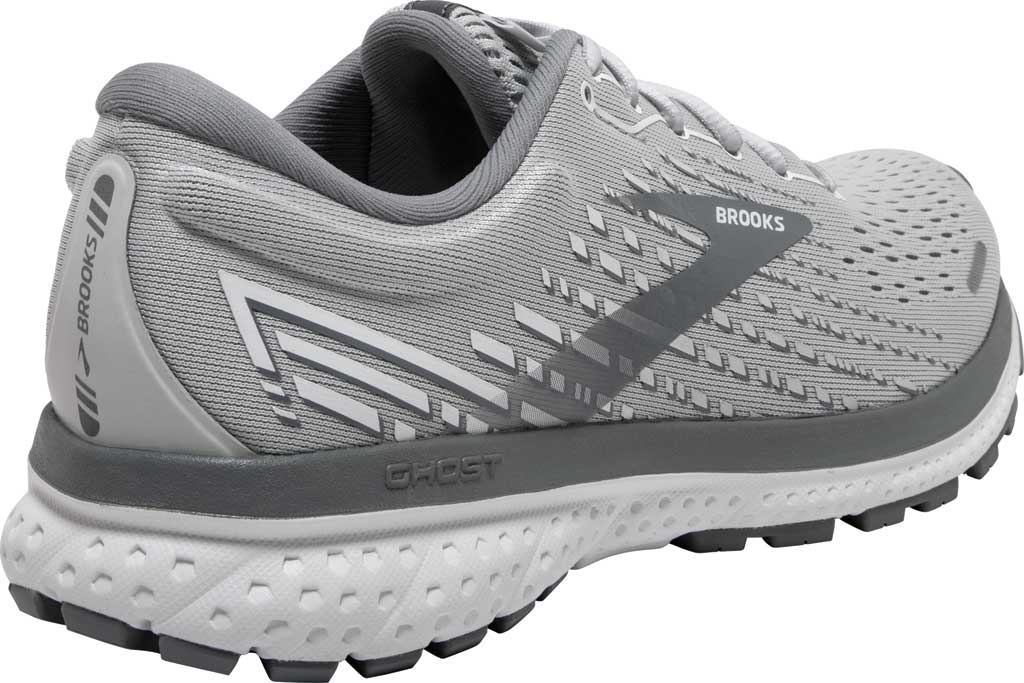 Women's Brooks Ghost 13 Running Shoe, Alloy/Oyster/White, large, image 4