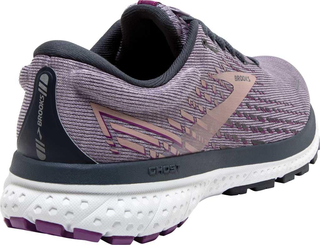 Women's Brooks Ghost 13 Running Shoe, Lavender/Ombre/Metallic, large, image 4