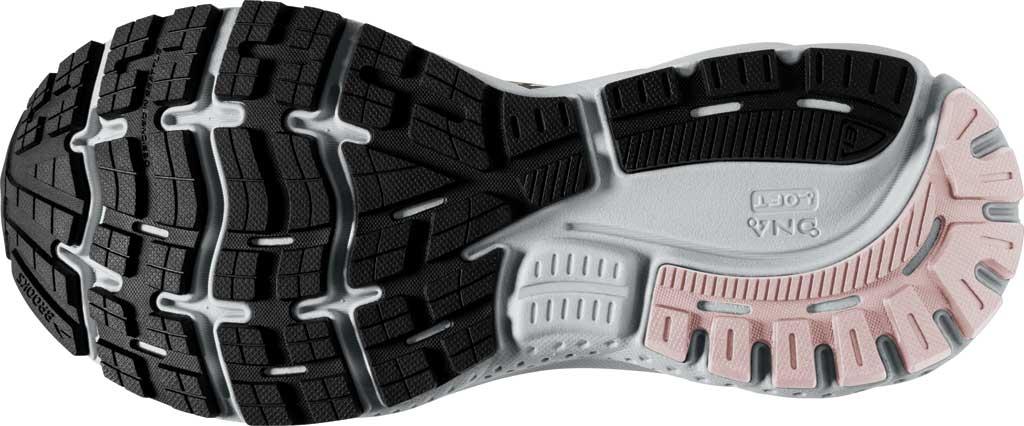 Women's Brooks Ghost 13 Running Shoe, Ombre/Black/Primrose, large, image 6