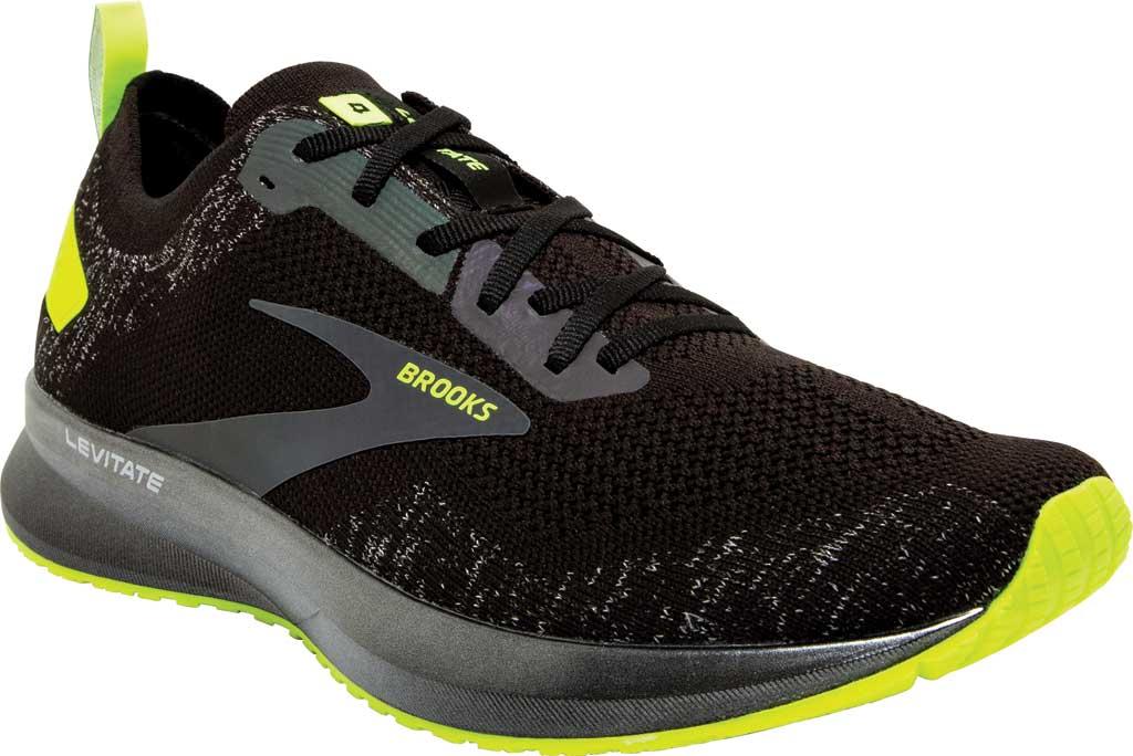 Women's Brooks Levitate 4 Running Shoe, Black/Nightlife, large, image 1