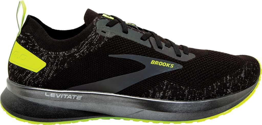 Women's Brooks Levitate 4 Running Shoe, Black/Nightlife, large, image 2