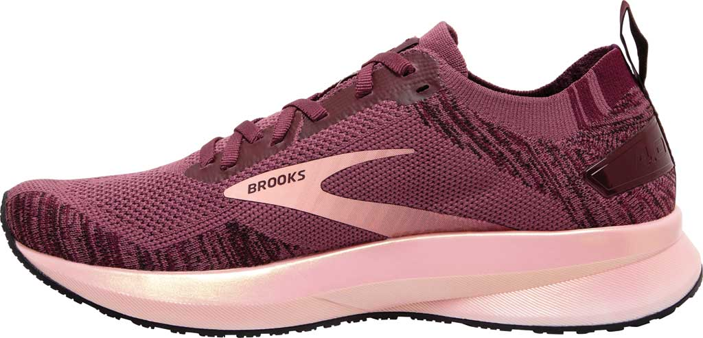 Women's Brooks Levitate 4 Running Shoe, Nocturne/Coral/Zinfandel, large, image 3
