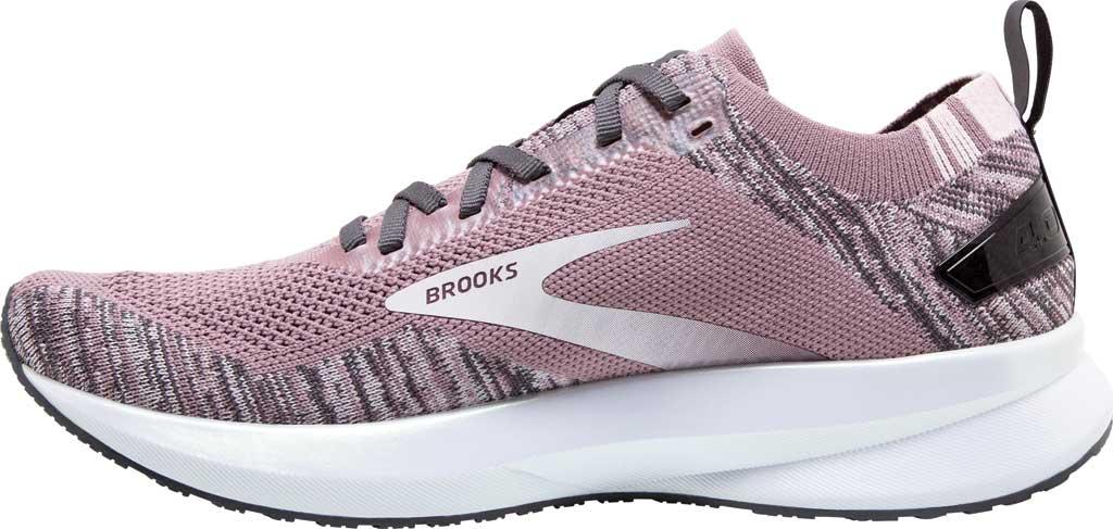 Women's Brooks Levitate 4 Running Shoe, Blackened Pearl/Metallic/Primrose, large, image 3