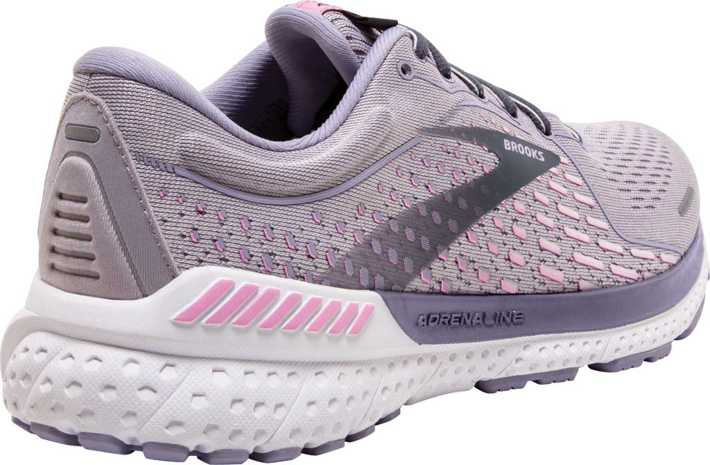 Women's Brooks Adrenaline GTS 21 Running Sneaker, Iris/Lilac Scachet/Ombre Blue, large, image 4