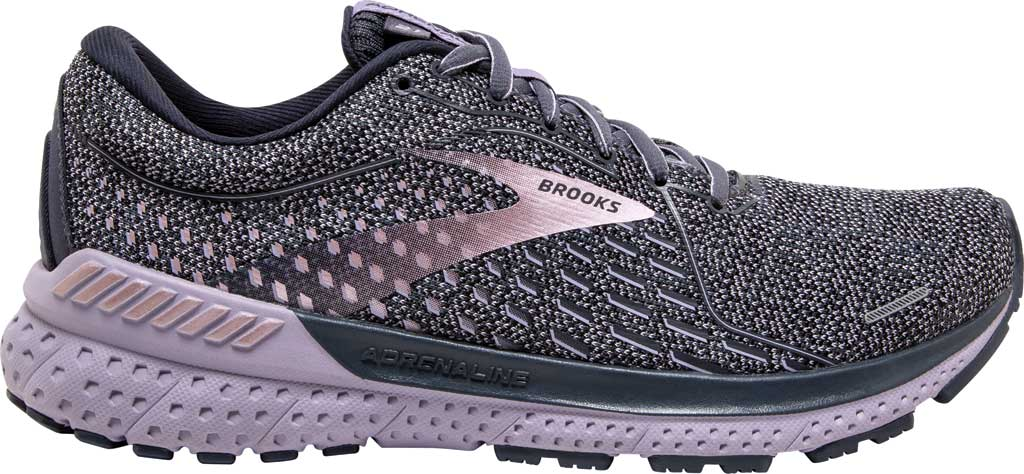 Women's Brooks Adrenaline GTS 21 Running Sneaker, Ombre/Lavender/Metallic, large, image 2
