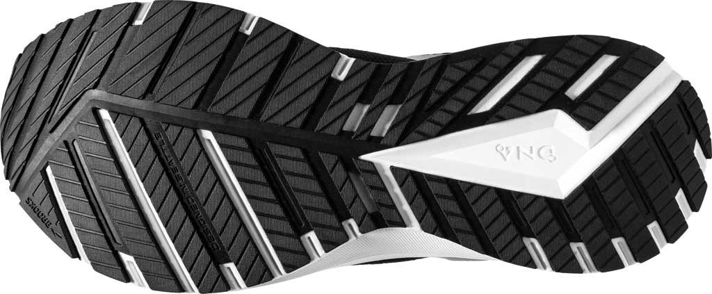 Men's Brooks Revel 4 Running Shoe, Black/Oyster/Silver, large, image 6