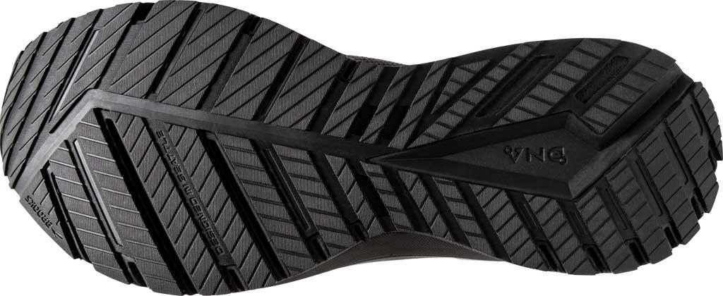 Men's Brooks Revel 4 Running Shoe, Ebony/Black/Grey, large, image 6
