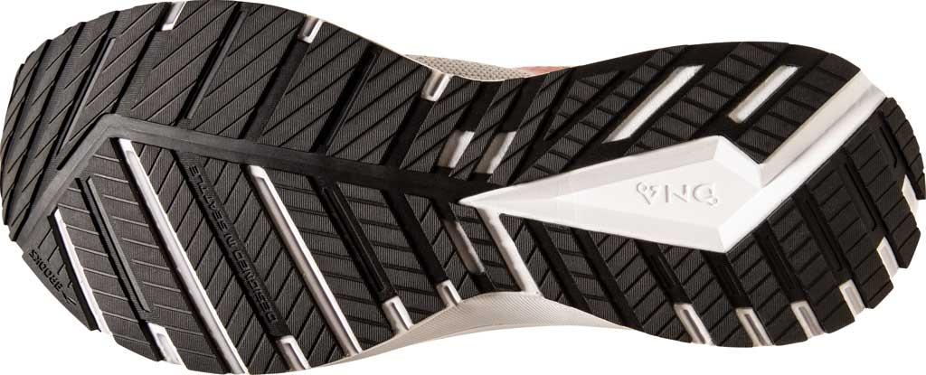 Men's Brooks Revel 4 Running Shoe, Grey/Black/Capri, large, image 6
