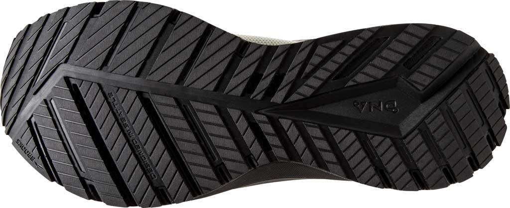 Men's Brooks Revel 4 Running Shoe, White/Black/Red, large, image 6