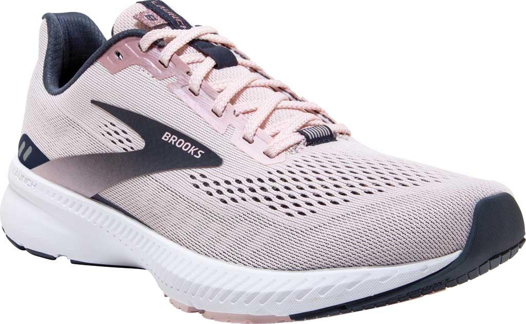 Women's Brooks Launch 8 Running Sneaker, Primrose/Ombre/Metallic, large, image 1