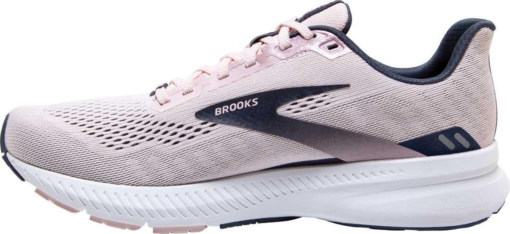 Women's Brooks Launch 8 Running Sneaker, Primrose/Ombre/Metallic, large, image 3