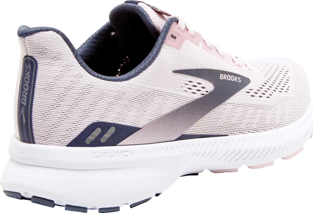 Women's Brooks Launch 8 Running Sneaker, Primrose/Ombre/Metallic, large, image 4