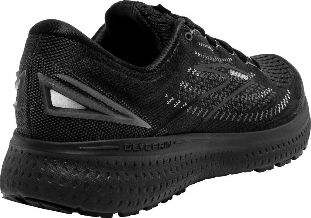 Men's Brooks Glycerin 19 Running Sneaker, Black/Ebony, large, image 4