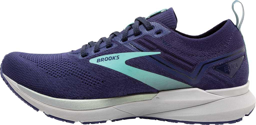 Women's Brooks Ricochet 3 Running Sneaker, Peacoat/Ribbon/Blue Tint, large, image 3