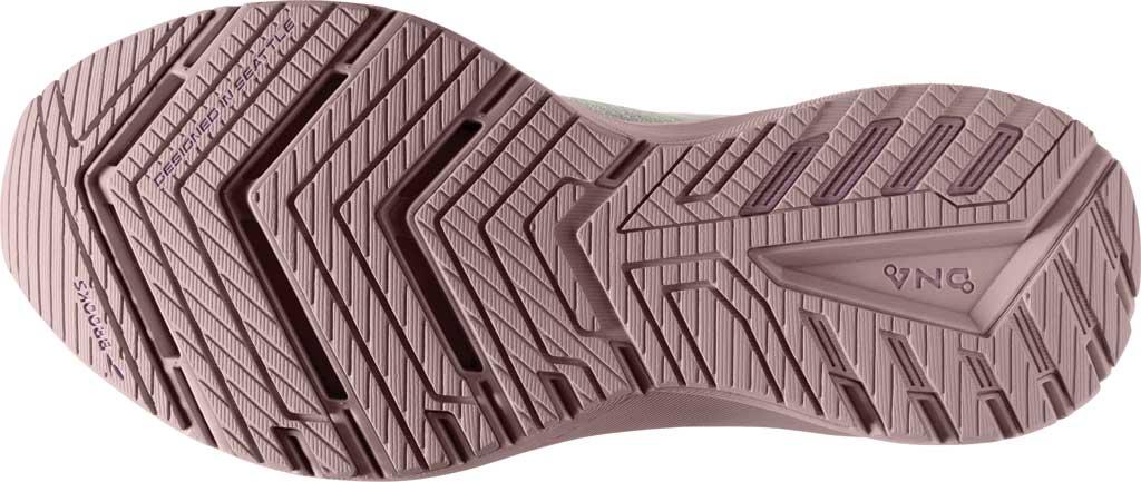 Women's Brooks Ricochet 3 Running Sneaker, White/Ice/Primrose Pink, large, image 6