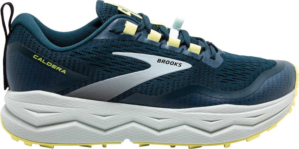 Women's Brooks Caldera 5 Trail Running Sneaker, Pond/Black/Charlock, large, image 2