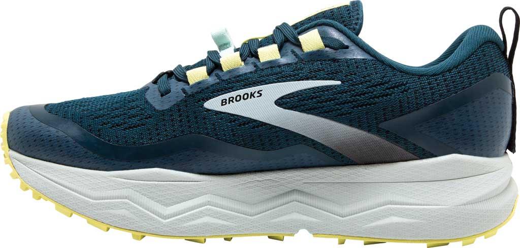 Women's Brooks Caldera 5 Trail Running Sneaker, Pond/Black/Charlock, large, image 3