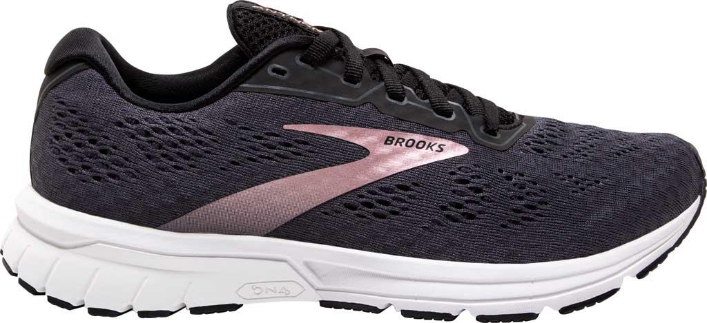 Women's Brooks Anthem 4 Running Sneaker, Black/Ebony/Metallic, large, image 2