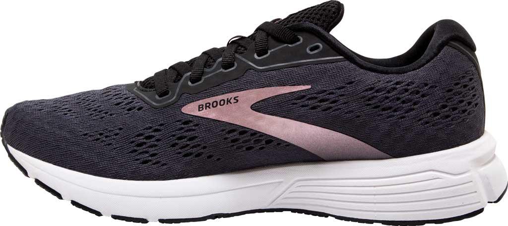 Women's Brooks Anthem 4 Running Sneaker, Black/Ebony/Metallic, large, image 3