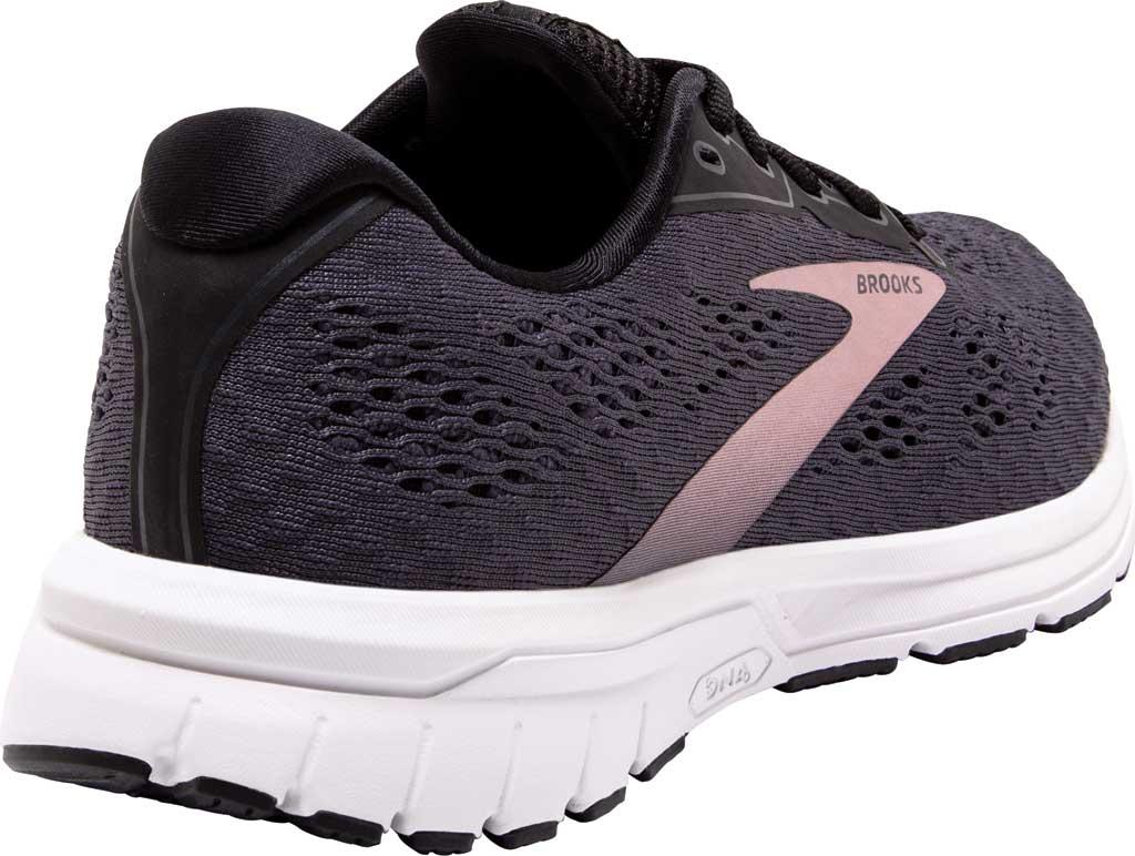 Women's Brooks Anthem 4 Running Sneaker, Black/Ebony/Metallic, large, image 4
