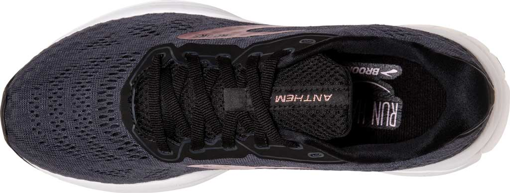 Women's Brooks Anthem 4 Running Sneaker, Black/Ebony/Metallic, large, image 5