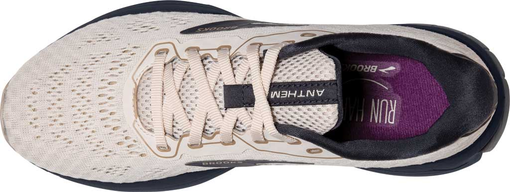 Women's Brooks Anthem 4 Running Sneaker, Whitecap/Almond/Ombre, large, image 5