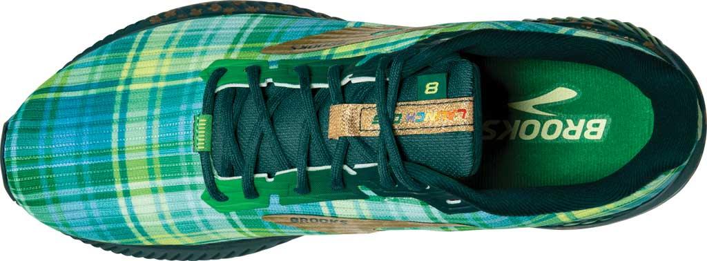 Women's Brooks Launch GTS 8 Running Sneaker, Fern Green/Metallic Gold/Deep Teal, large, image 5